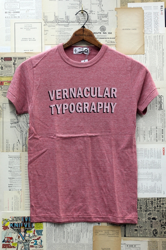 Shirt And Hat Collections Vernacular Typography